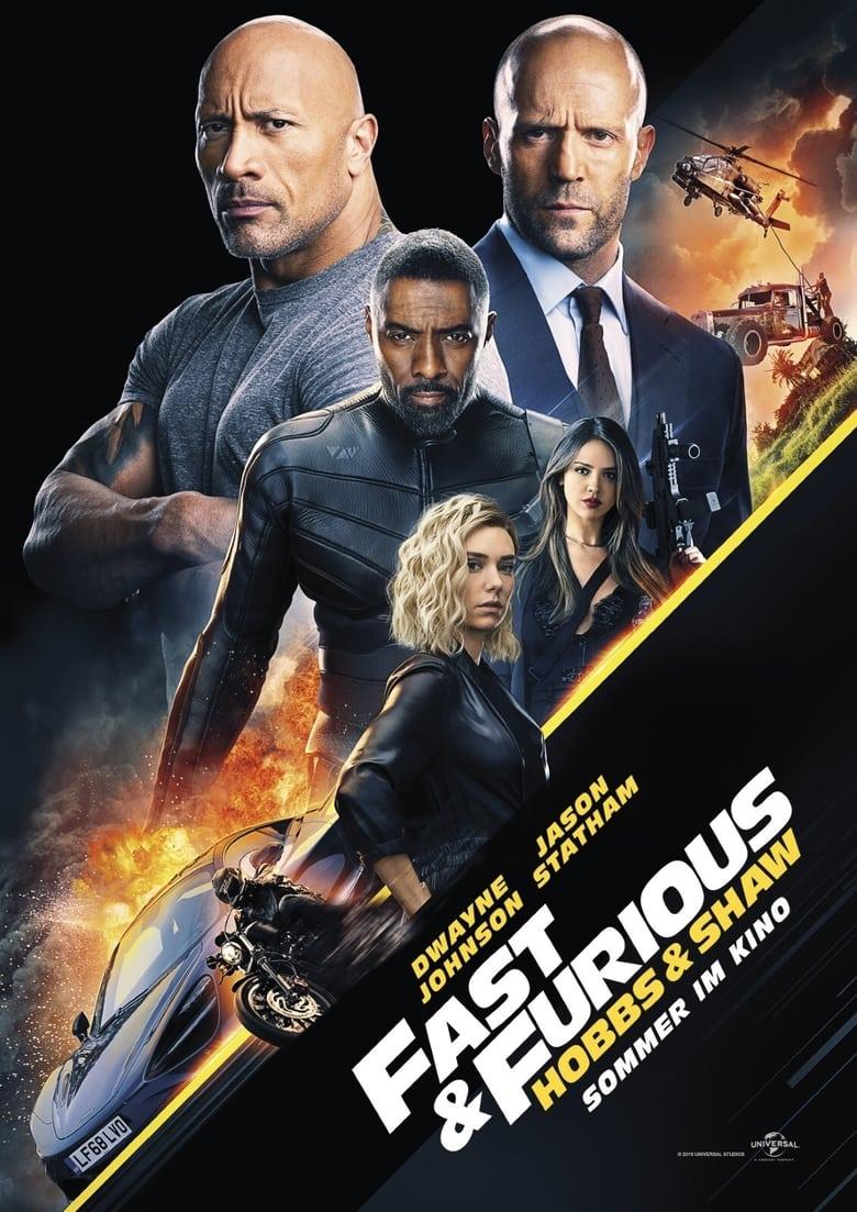 """Plakat von """"Fast & Furious: Hobbs & Shaw"""""""