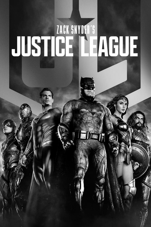 """Plakat von """"Zack Snyder's Justice League"""""""