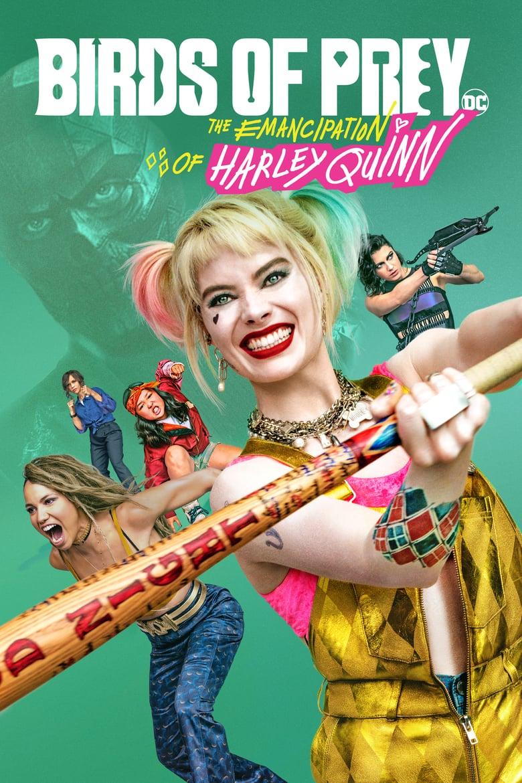 """Plakat von """"Birds of Prey - The Emancipation of Harley Quinn"""""""