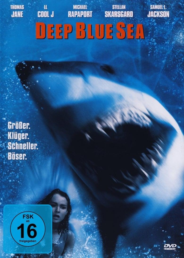 """Plakat von """"Deep Blue Sea"""""""