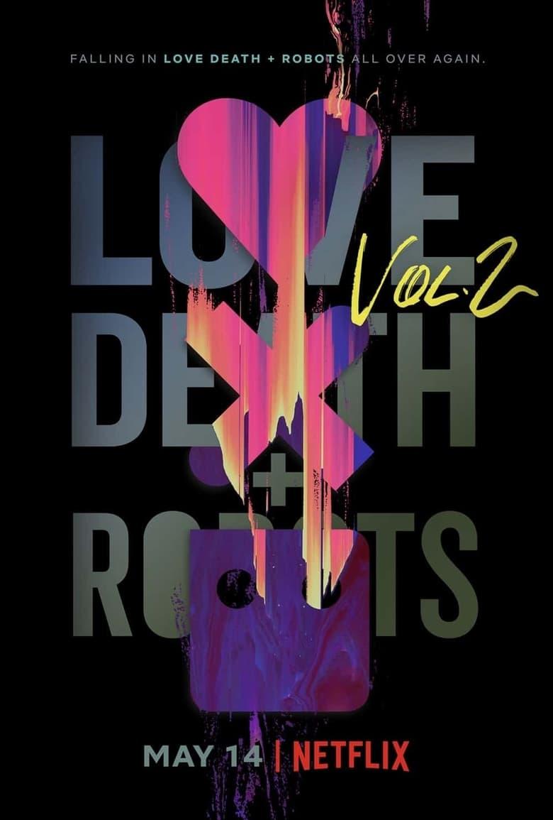 "Plakat von ""Love, Death & Robots: Automated Customer Service"""